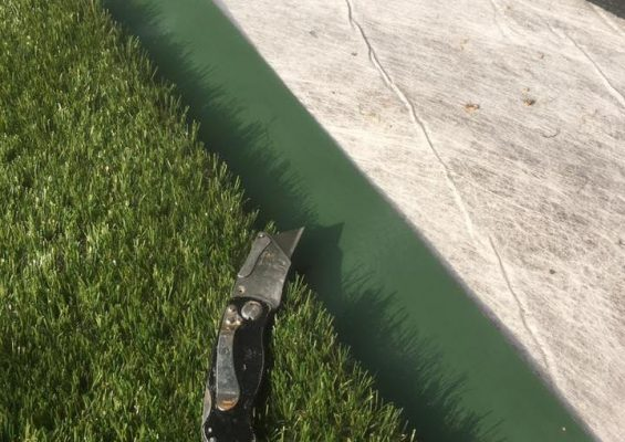 Artificial grass base